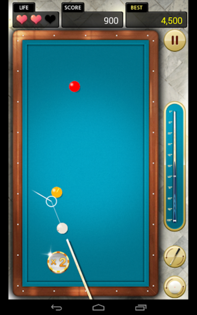 Billiards 3 ball 4 ball screenshot 10