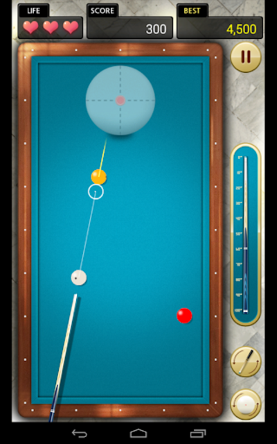 Billiards 3 ball 4 ball screenshot 16
