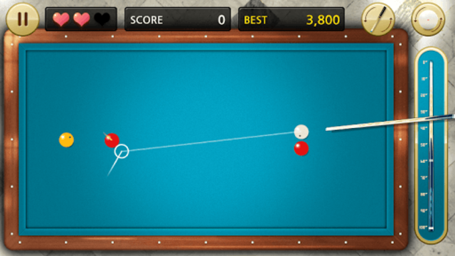 Billiards 3 ball 4 ball screenshot 5