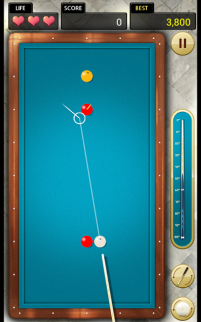 Billiards 3 ball 4 ball screenshot 1