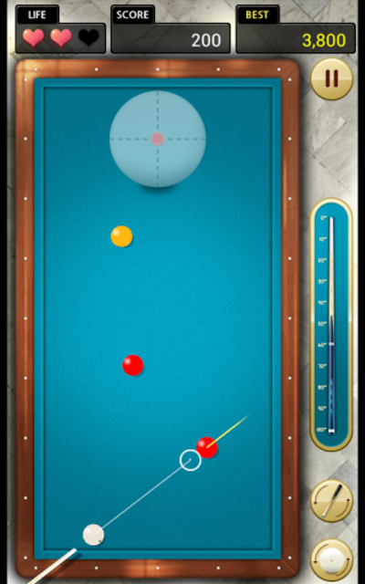 Billiards 3 ball 4 ball screenshot 2