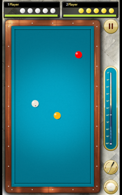 Billiards 3 ball 4 ball screenshot 3