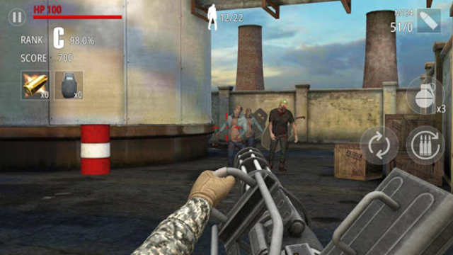 Zombie Fire screenshot 1