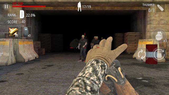 Zombie Fire screenshot 2