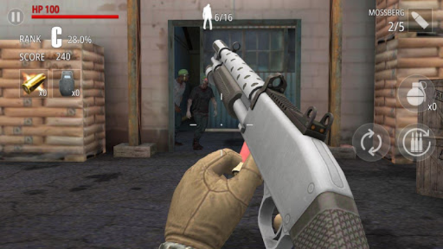 Zombie Fire screenshot 3