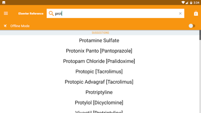 Mosby's Drug Reference for Health Professions screenshot 8