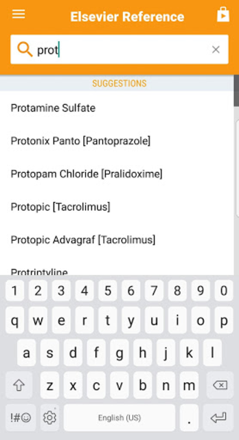 Mosby's Drug Reference for Health Professions screenshot 2