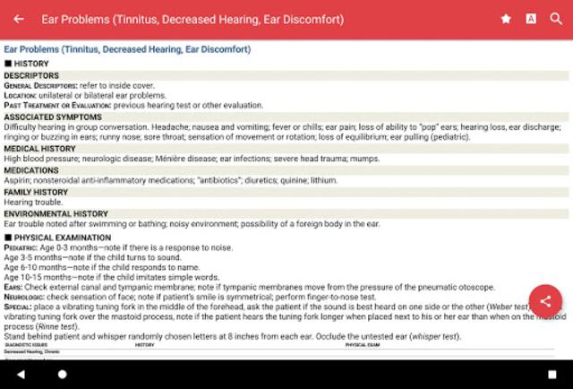Common Symptom Guide screenshot 17