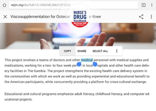 Nurse's Drug Handbook screenshot 11