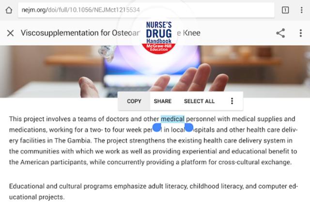 Nurse's Drug Handbook screenshot 19