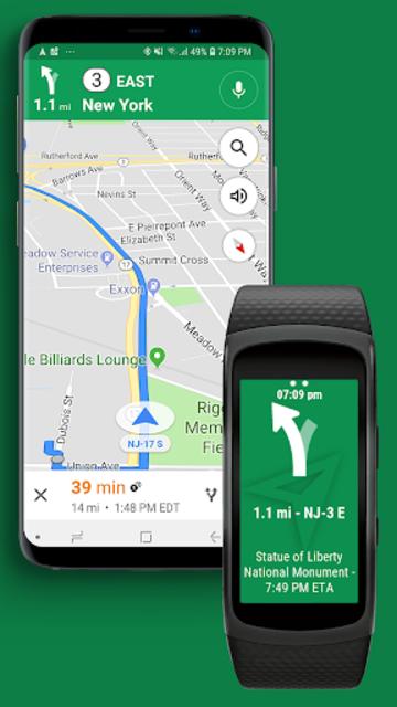 Navigator Lite [Maps Viewer for Gear Fit] screenshot 1