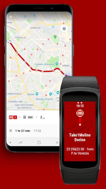Navigator Lite [Maps Viewer for Gear Fit] screenshot 2