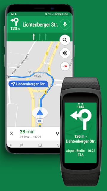 Navigator Lite [Maps Viewer for Gear Fit] screenshot 3