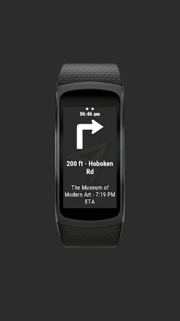 Navigator Lite [Maps Viewer for Gear Fit] screenshot 4