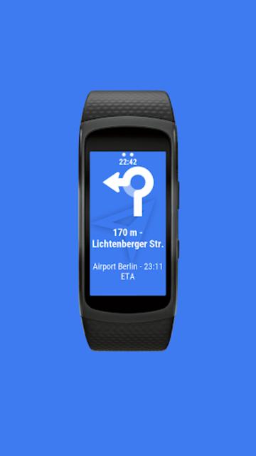 Navigator Lite [Maps Viewer for Gear Fit] screenshot 5