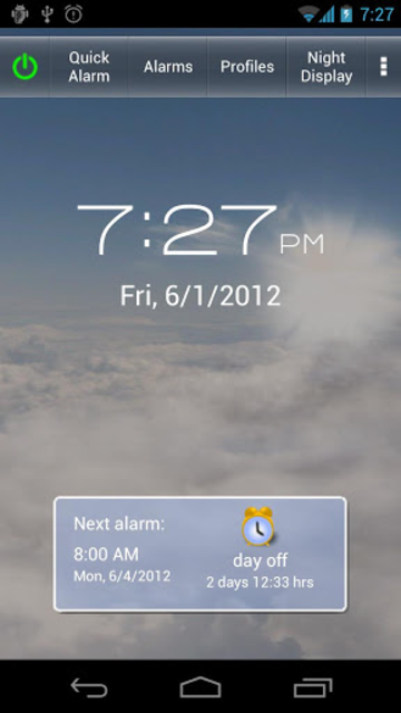 Gentle Alarm screenshot 1