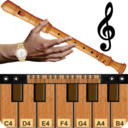 Icon for Real Flute & Recorder - Magic Tiles Music Games