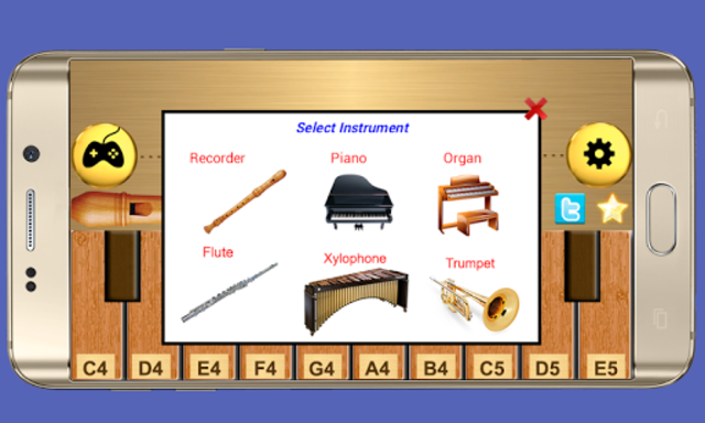 Real Flute & Recorder - Magic Tiles Music Games screenshot 2