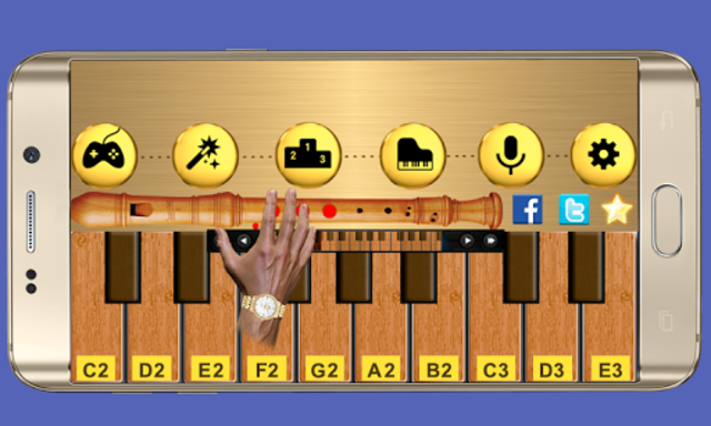 Real Flute & Recorder - Magic Tiles Music Games screenshot 4