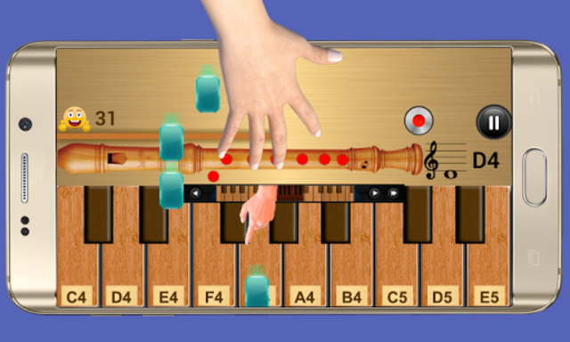 Real Flute & Recorder - Magic Tiles Music Games screenshot 7