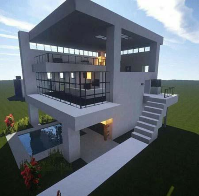 Modern House for Minecraft - 350 Best Design screenshot 1