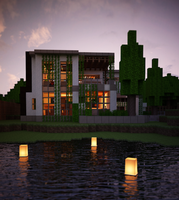 Modern House for Minecraft - 350 Best Design screenshot 3