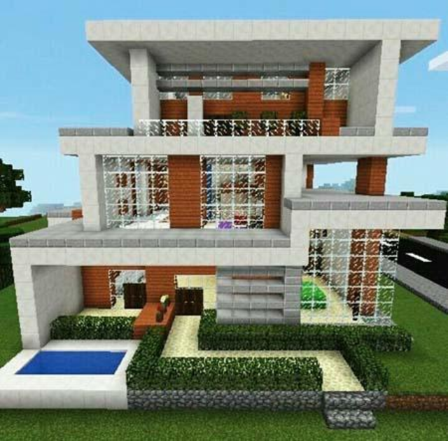 Modern House for Minecraft - 350 Best Design screenshot 4