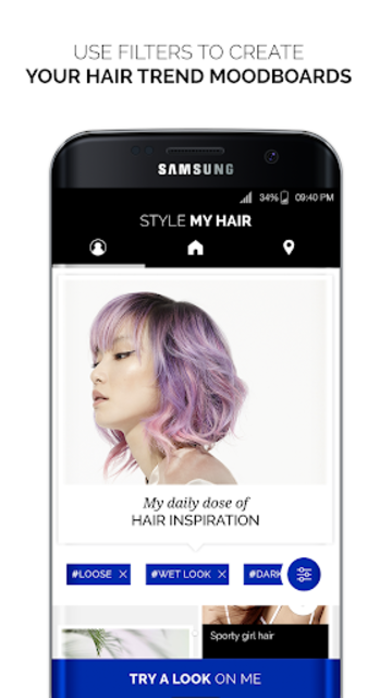 Style My Hair: Discover Your Next Look screenshot 1