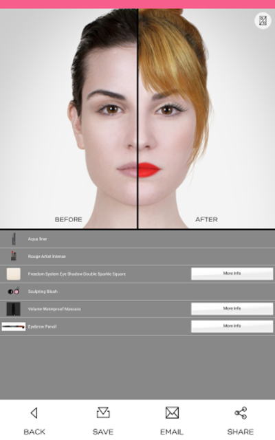 Virtual MakeUp screenshot 5