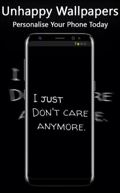 Unhappy Wallpapers screenshot 1