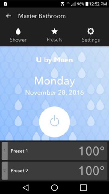 U By Moen Smart Shower screenshot 1
