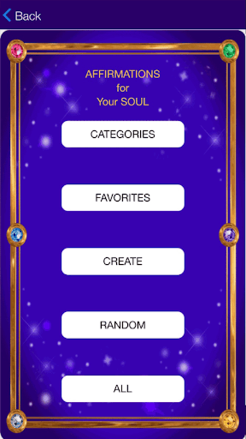 Affirmations for your Soul screenshot 2