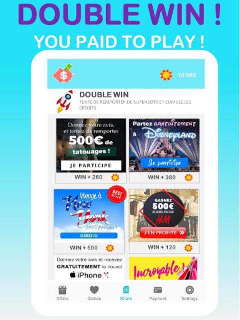 LuckyCash - Win real money and coupons ! screenshot 9