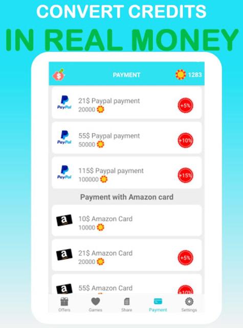 LuckyCash - Win real money and coupons ! screenshot 10
