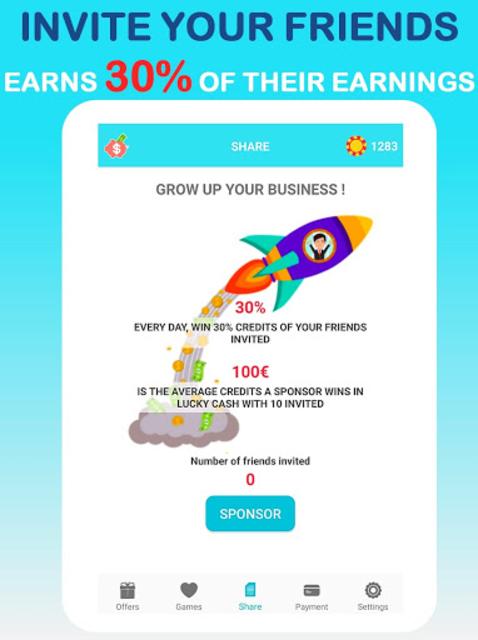 LuckyCash - Win real money and coupons ! screenshot 11