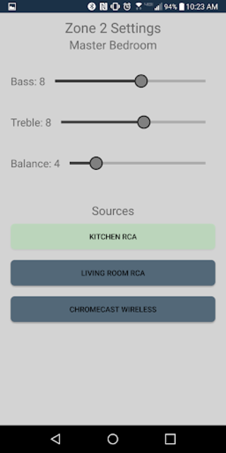 Monoprice Whole Home Audio Control screenshot 4