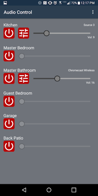 Monoprice Whole Home Audio Control screenshot 5