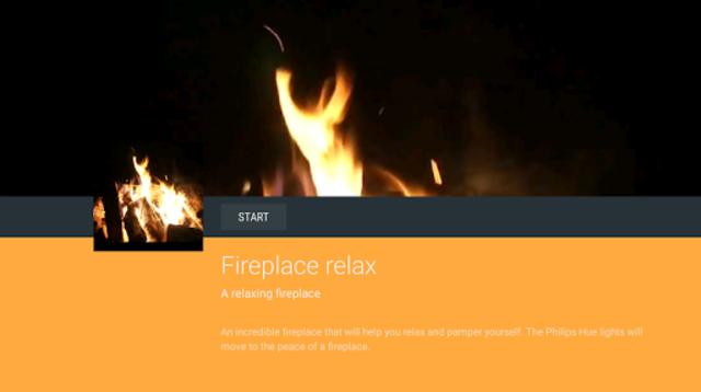 Fireplace Philips Hue screenshot 2