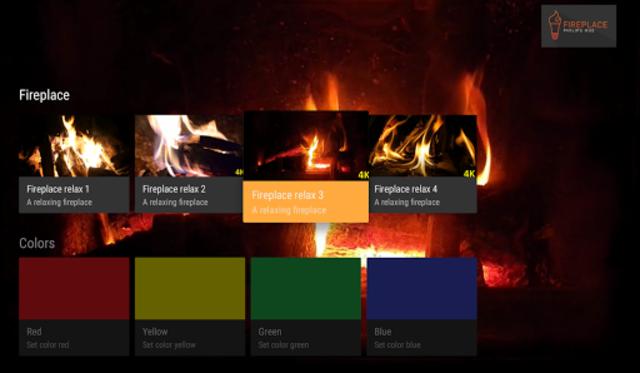Fireplace Philips Hue screenshot 6
