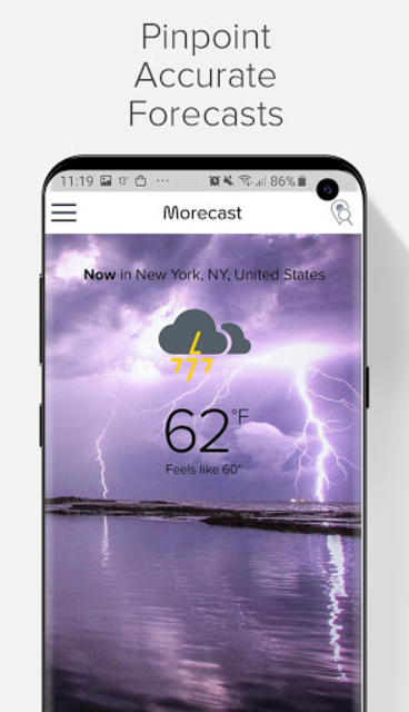 Weather Forecast, Radar & Widgets - Morecast screenshot 2