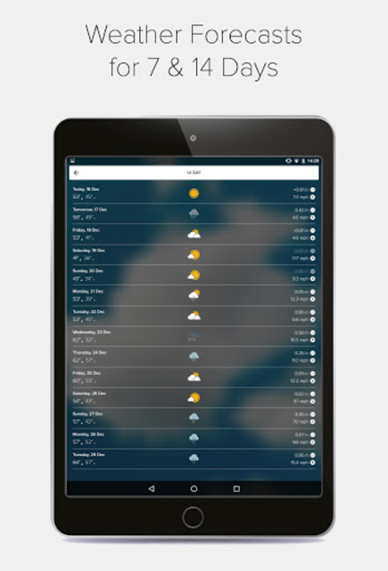 Weather Forecast, Radar & Widgets - Morecast screenshot 12