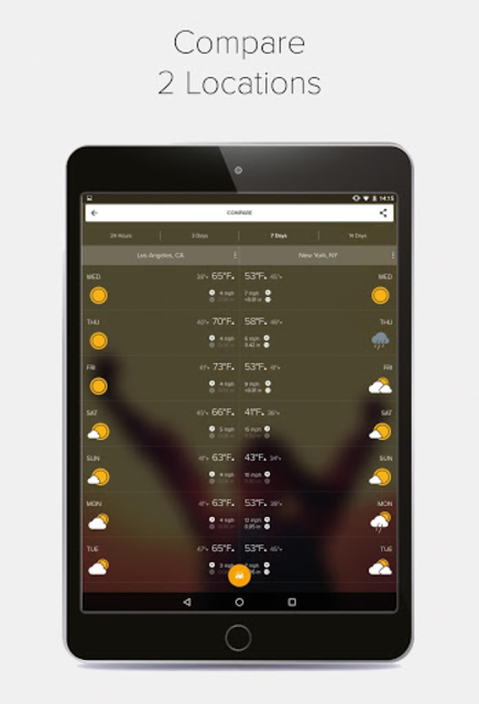 Weather Forecast, Radar & Widgets - Morecast screenshot 14