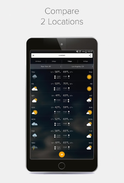 Weather Forecast, Radar & Widgets - Morecast screenshot 22