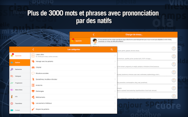 Anglais Médical - MosaLingua screenshot 9