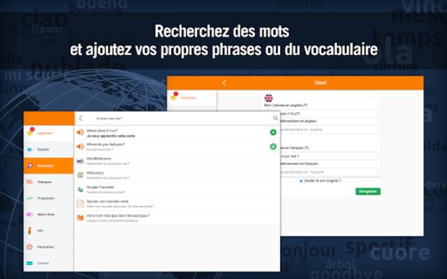 Anglais Médical - MosaLingua screenshot 10