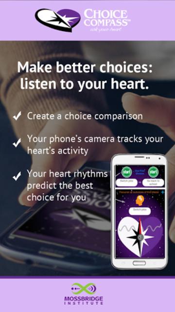 Choice Compass screenshot 1
