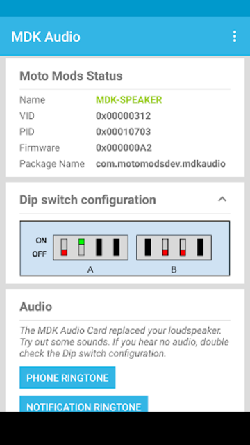 MDK Audio screenshot 1