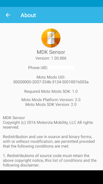 MDK Sensor screenshot 2