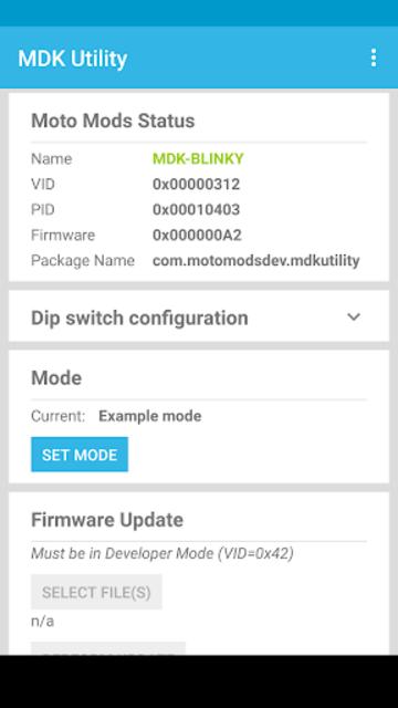 MDK Utility screenshot 1