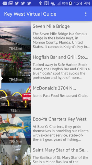 Key West Virtual Guide screenshot 1